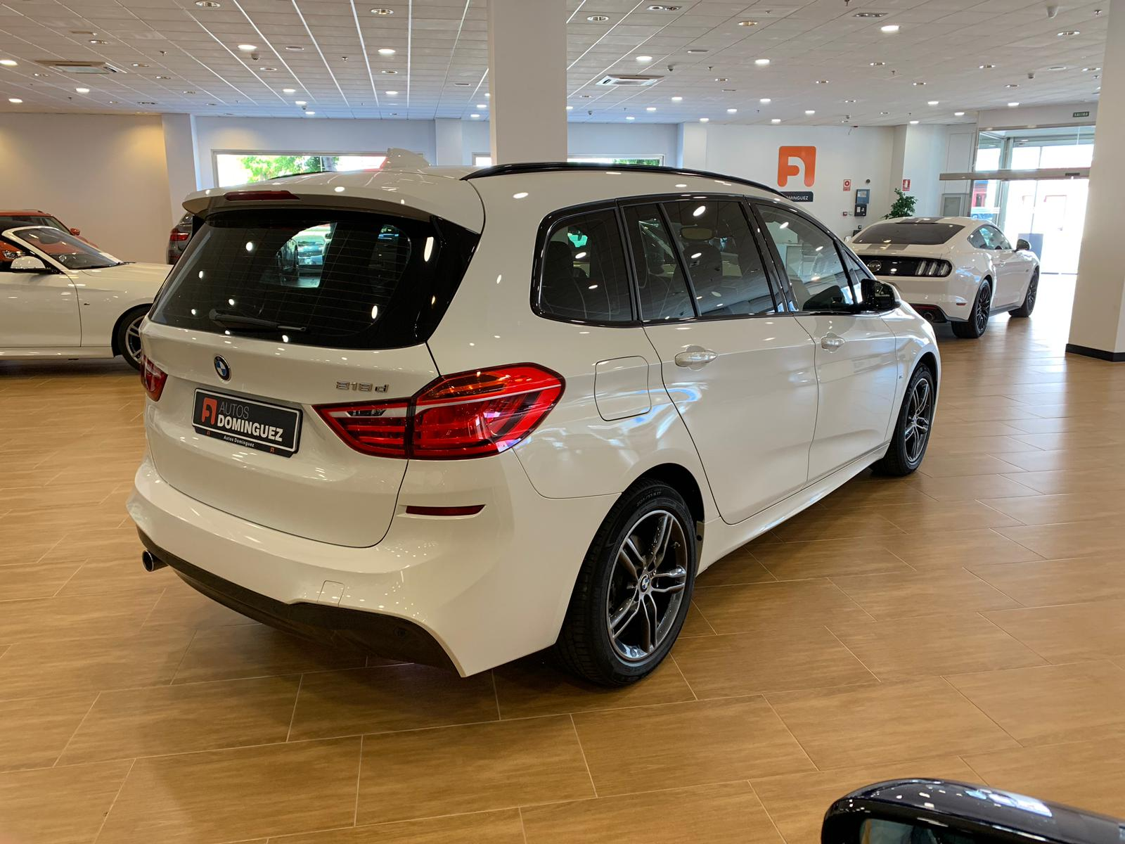 BMW SERIE 2 218dA 150 CV GRAN TOURER M 7 PLAZAS IVA DEDUCIBLE