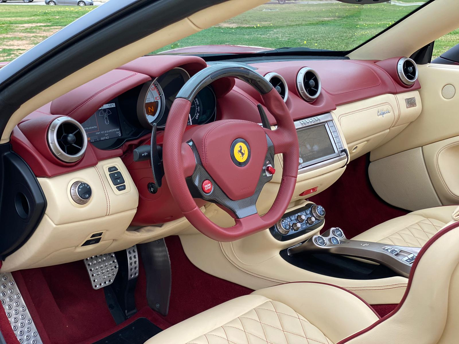 FERRARI CALIFORNIA TAILOR MADE 4 PLAZAS 460 CV 17