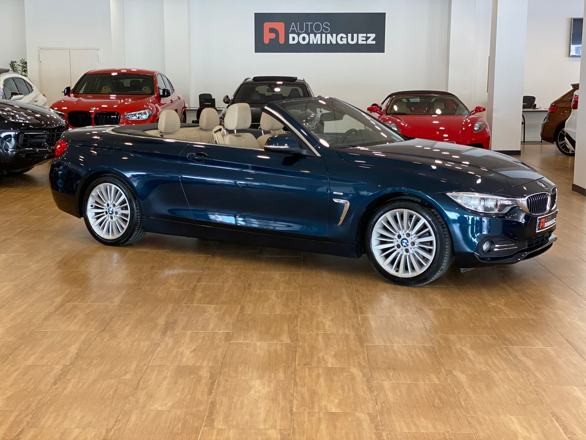 BMW SERIE 4 420dA CABRIO LUXURY 184 CV