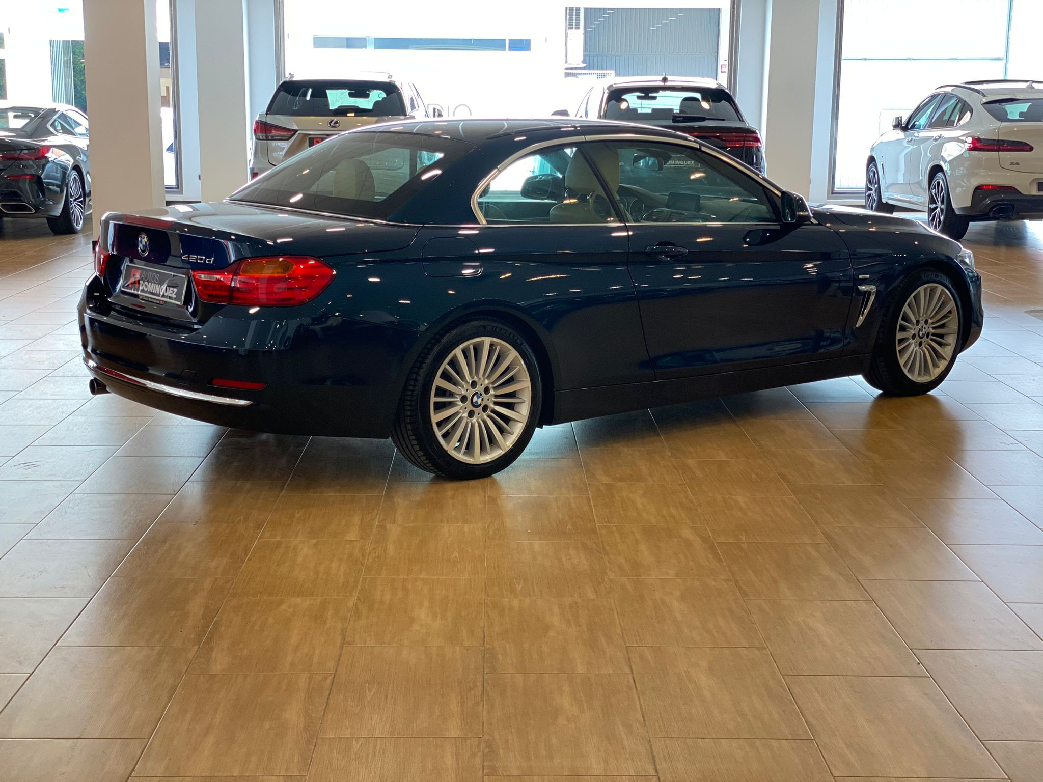 BMW SERIE 4 420dA CABRIO LUXURY 184 CV 10
