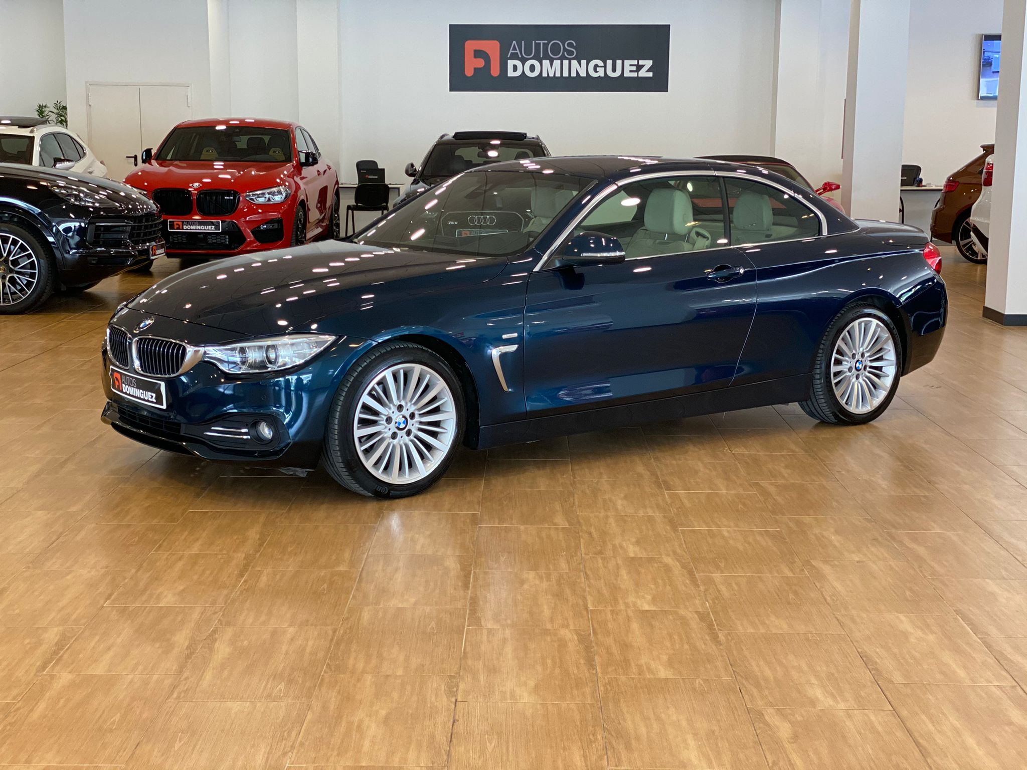 BMW SERIE 4 420dA CABRIO LUXURY 184 CV 7