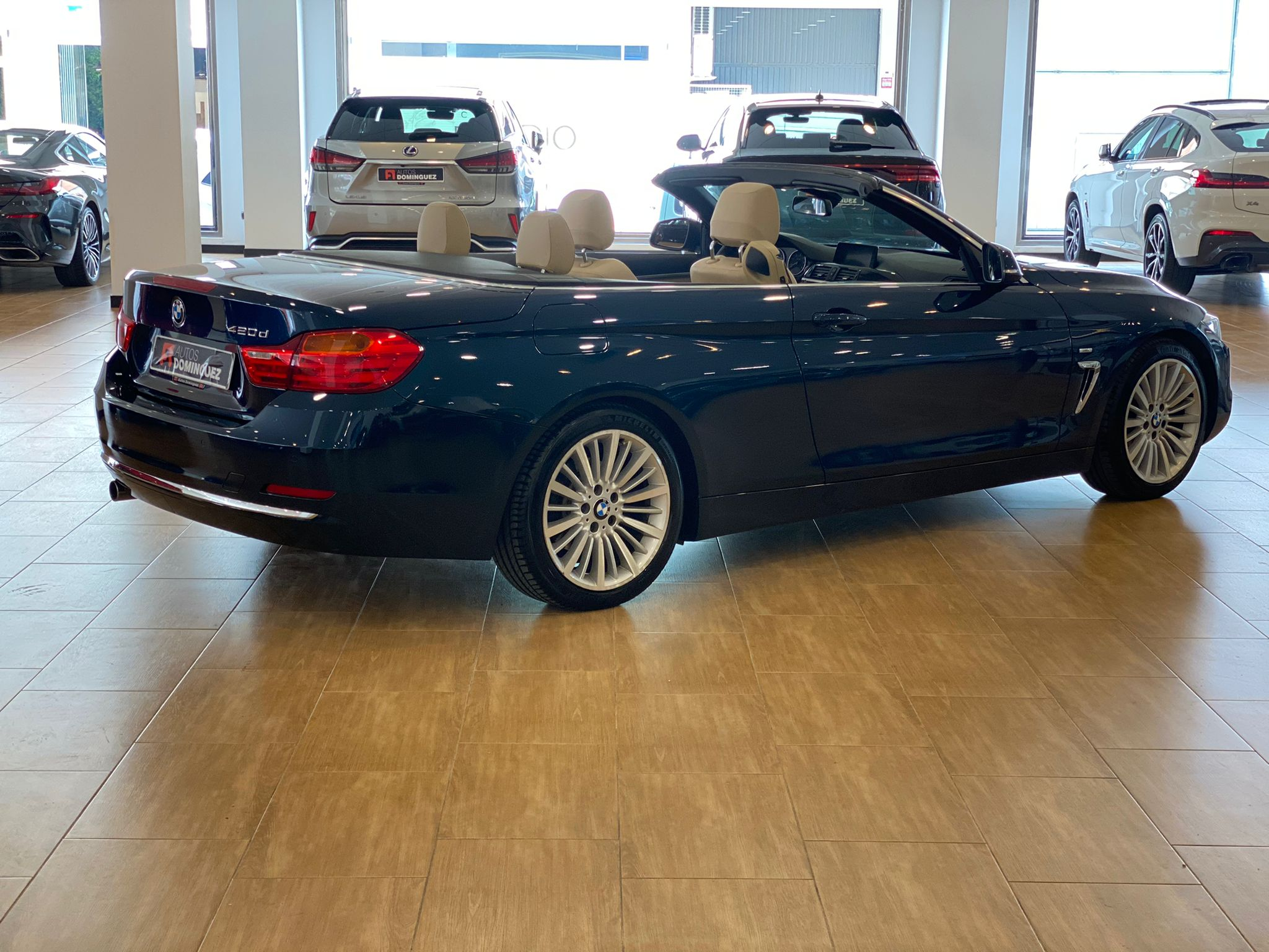 BMW SERIE 4 420dA CABRIO LUXURY 184 CV 6