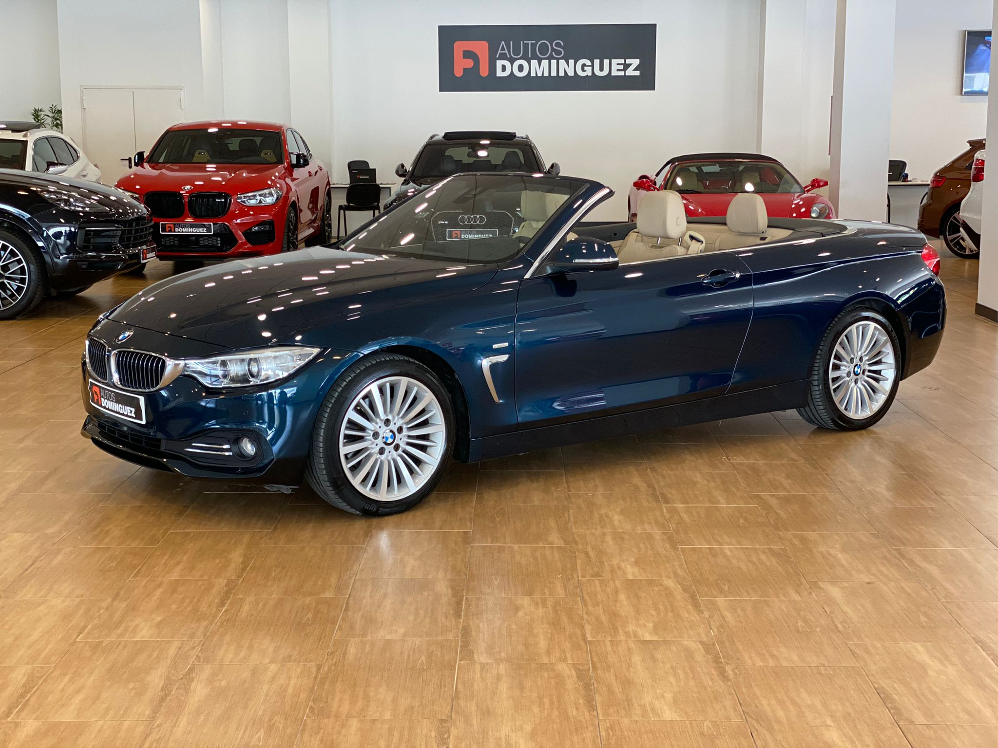 BMW SERIE 4 420dA CABRIO LUXURY 184 CV 1