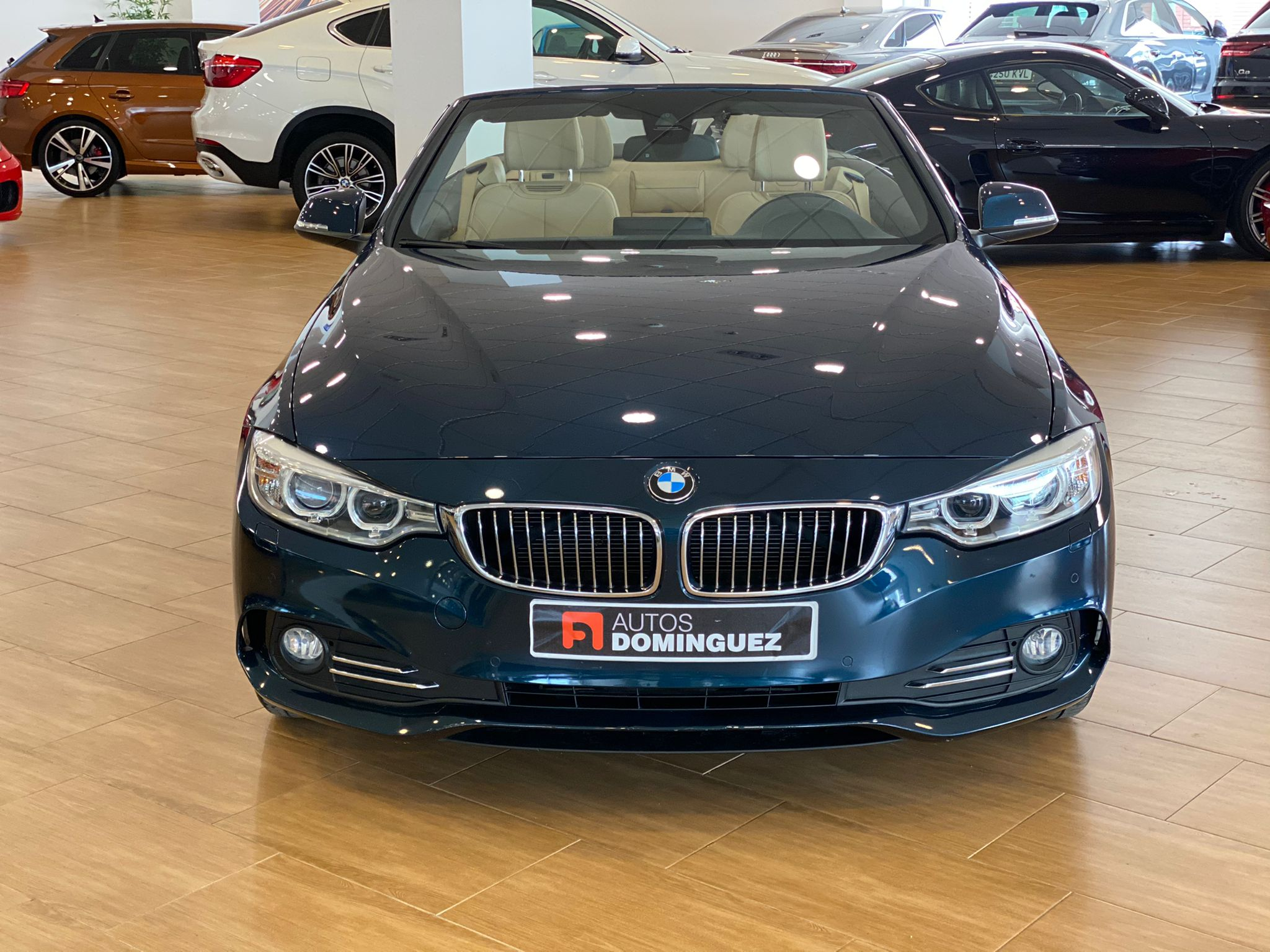 BMW SERIE 4 420dA CABRIO LUXURY 184 CV 2