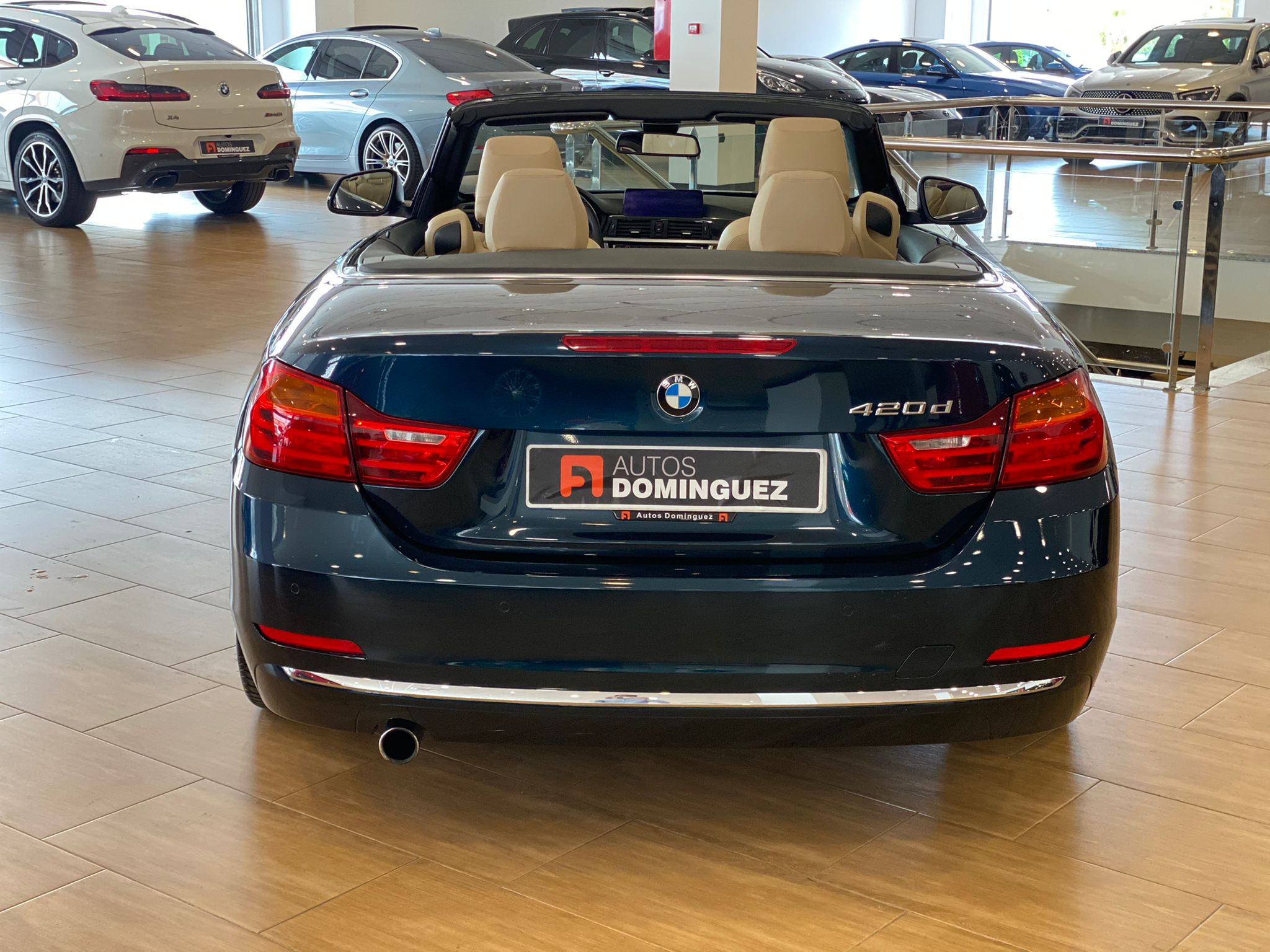 BMW SERIE 4 420dA CABRIO LUXURY 184 CV 5