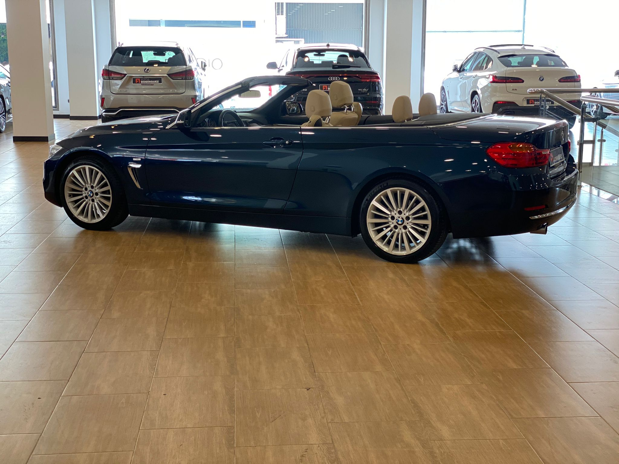 BMW SERIE 4 420dA CABRIO LUXURY 184 CV 4