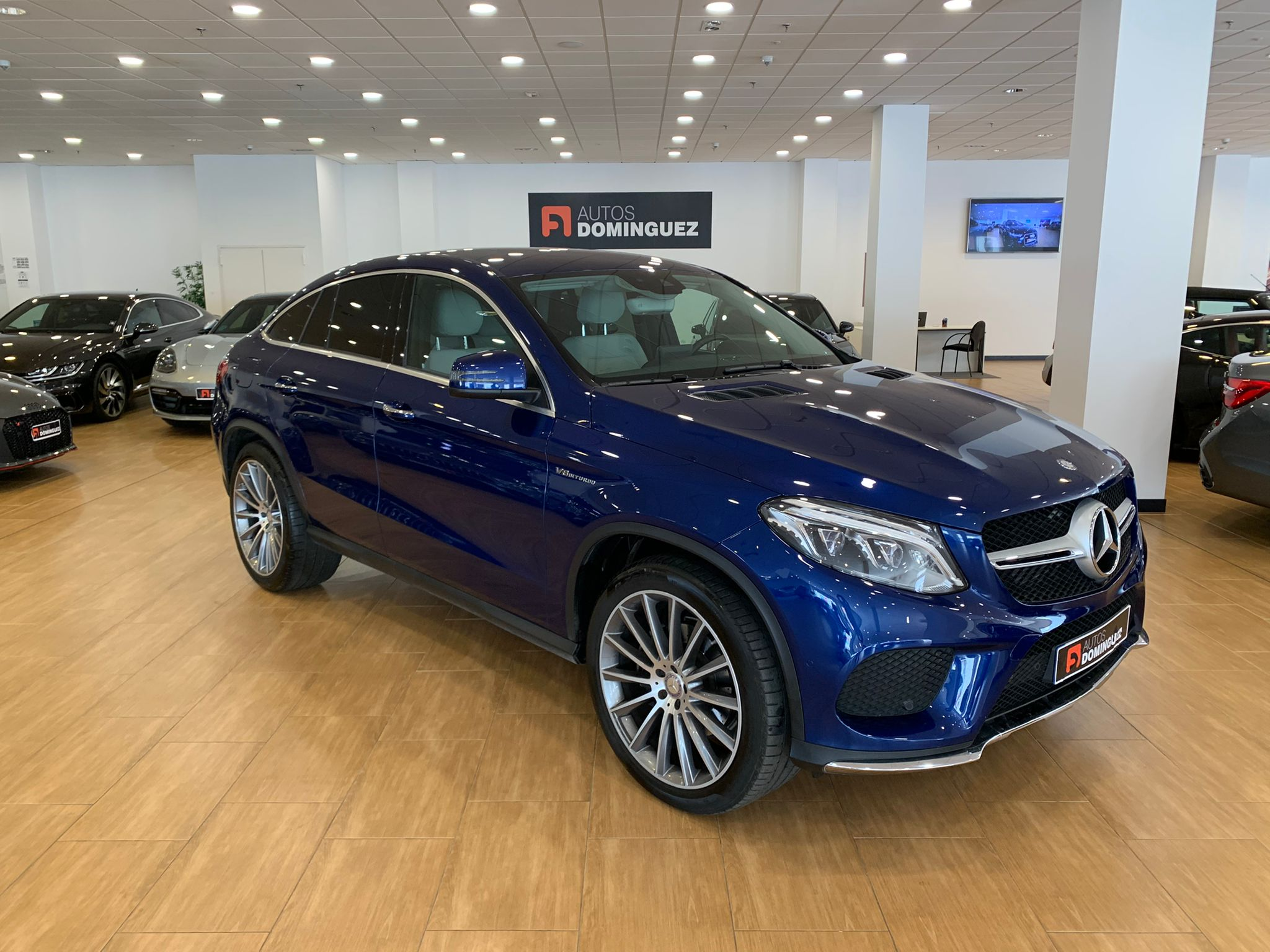 MERCEDES GLE COUPE 350D 4 MATIC PACK AMG