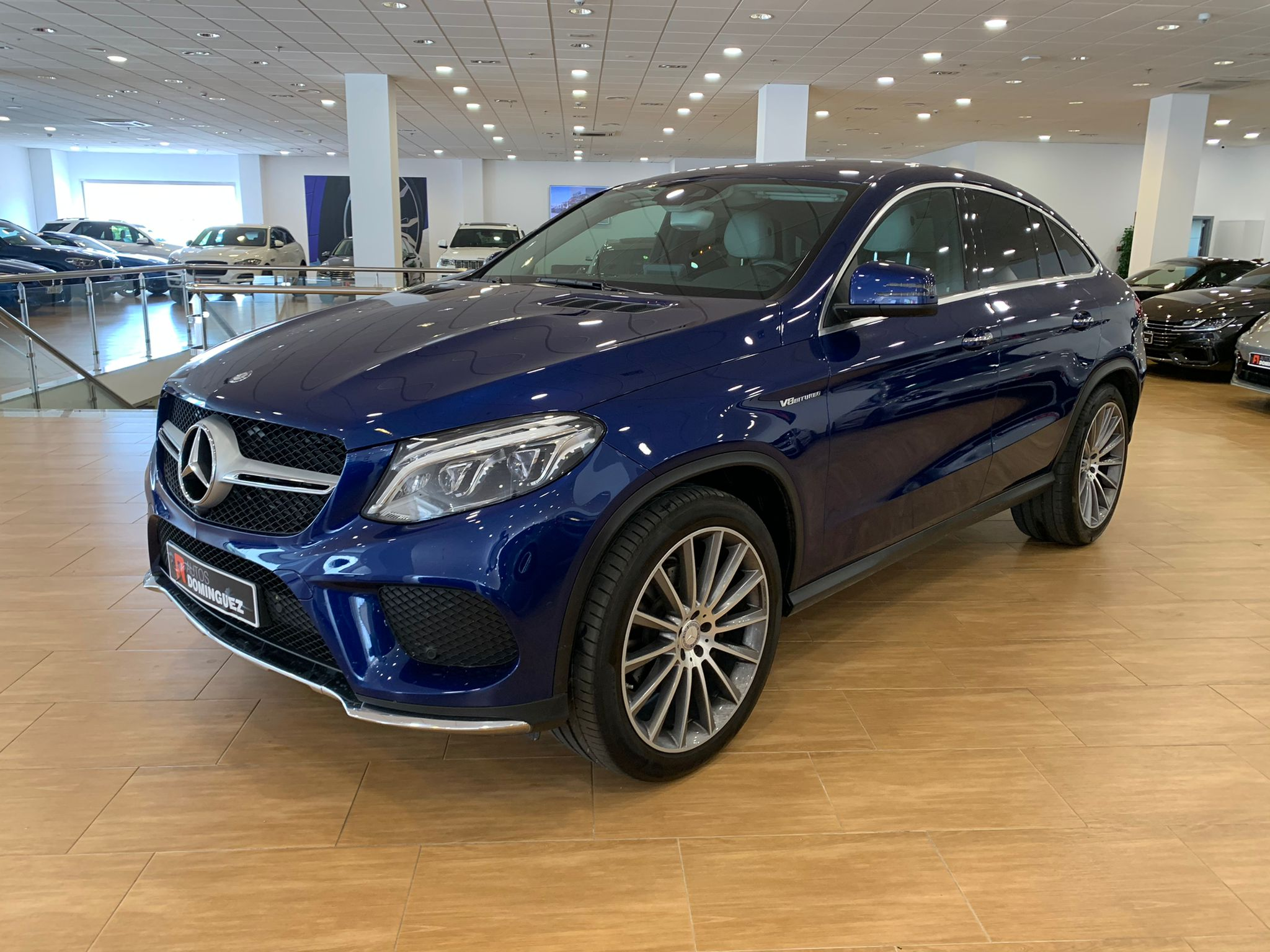 MERCEDES GLE COUPE 350D 4 MATIC PACK AMG 4
