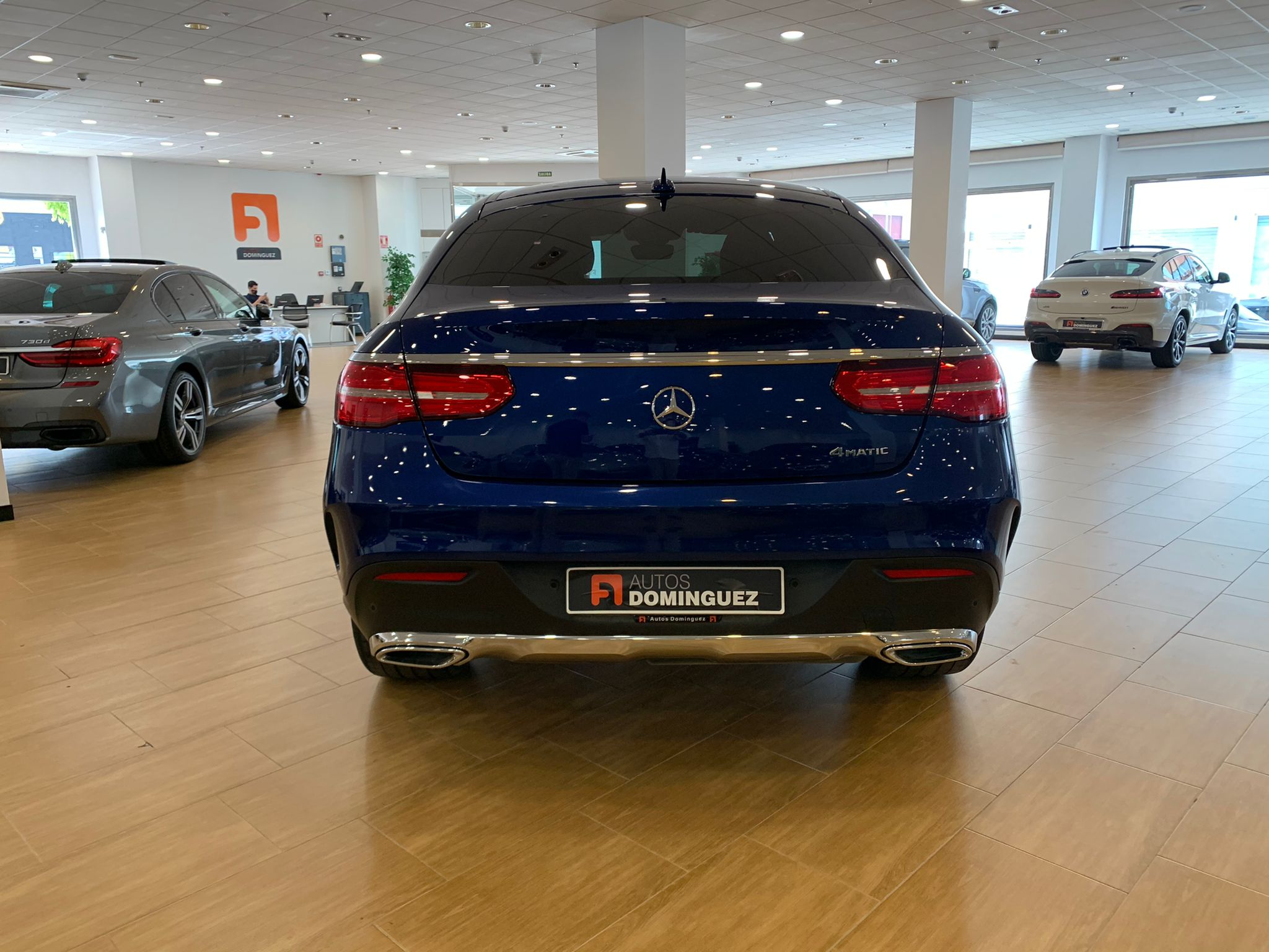 MERCEDES GLE COUPE 350D 4 MATIC PACK AMG 5