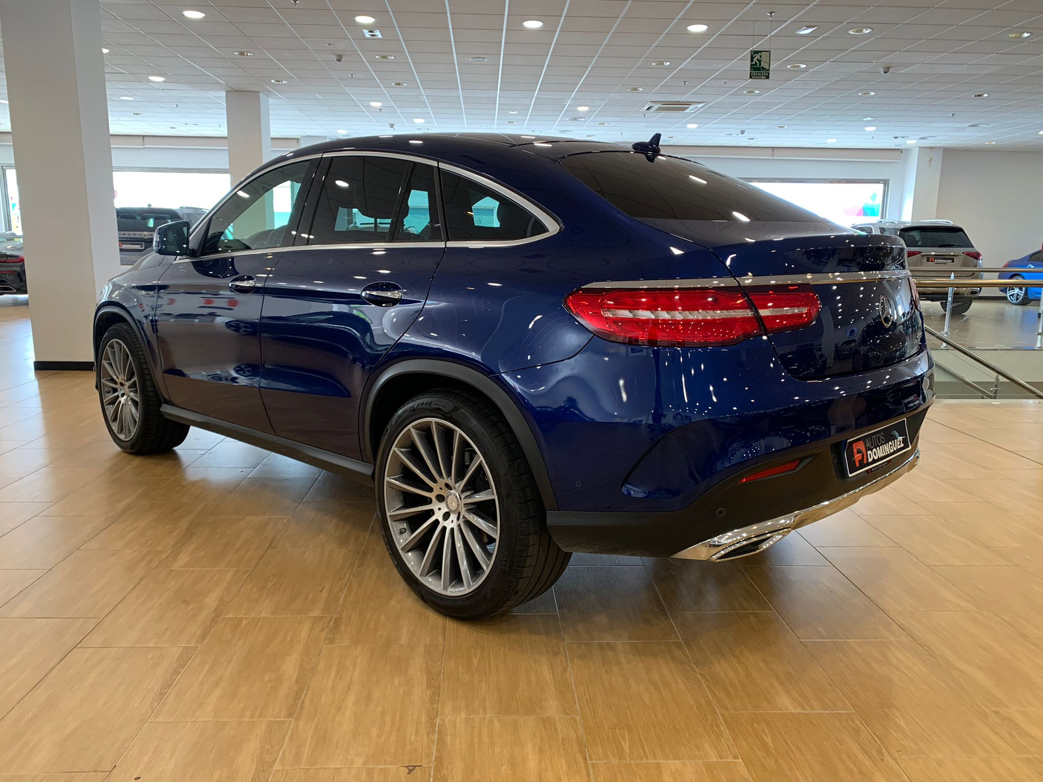 MERCEDES GLE COUPE 350D 4 MATIC PACK AMG 6