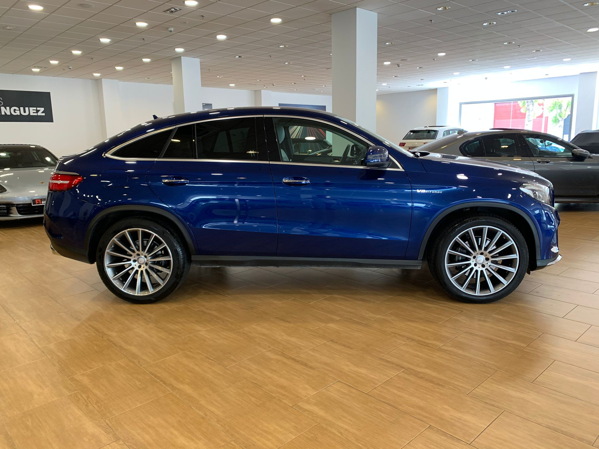 MERCEDES GLE COUPE 350D 4 MATIC PACK AMG 7