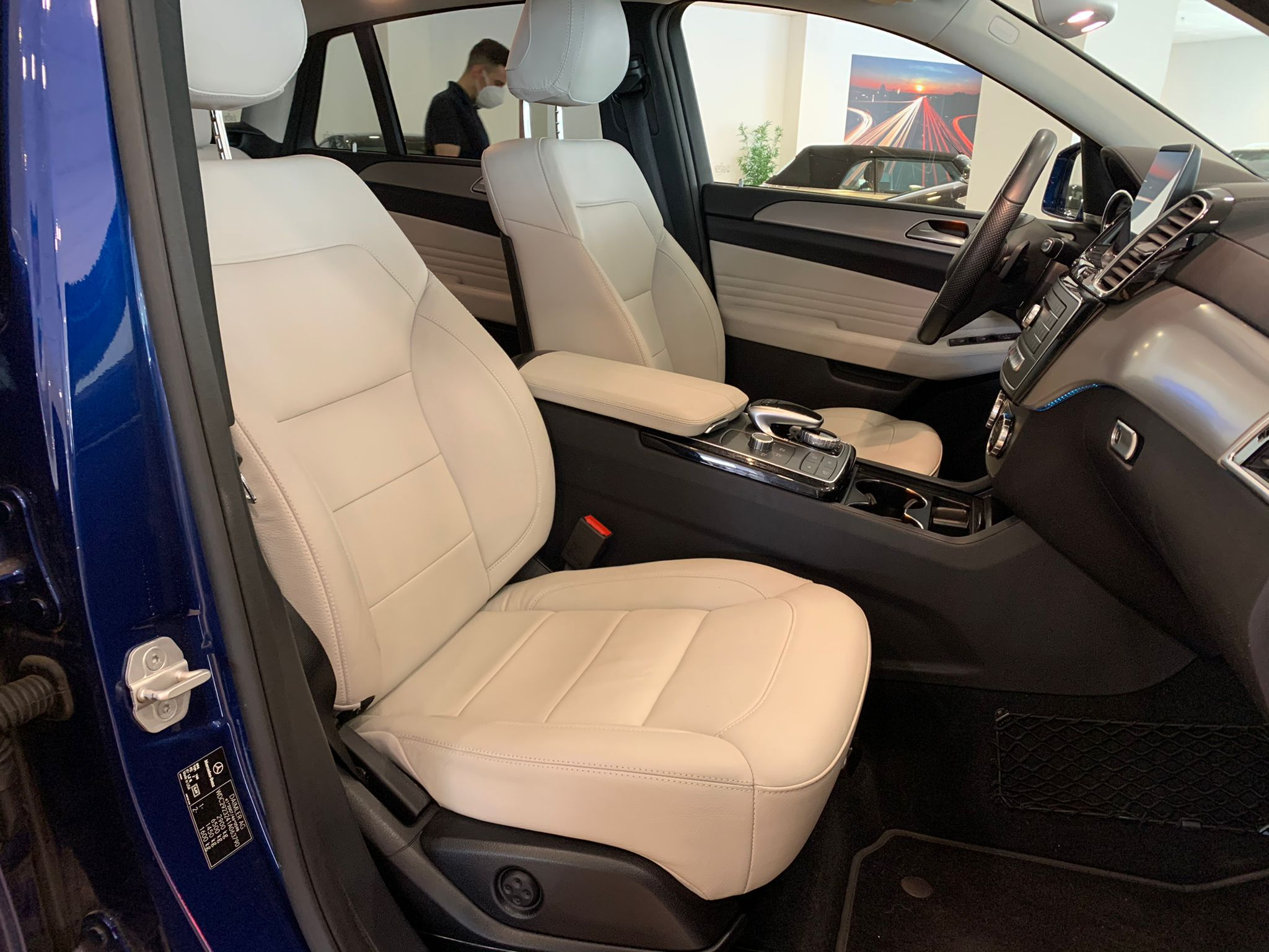 MERCEDES GLE COUPE 350D 4 MATIC PACK AMG 9
